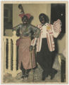 Actor and actress in blackface at Cabaret Montmartre