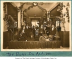 Odean Jazz Orchestra playing in club, Seattle, ca. 1925