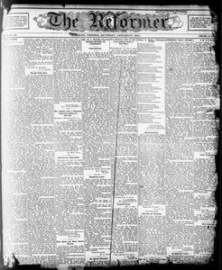 The Reformer. (Richmond, Va.), Vol. 5, No. 20, Ed. 1 Saturday, January 27, 1900 The Reformer
