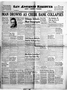 San Antonio Register (San Antonio, Tex.), Vol. 27, No. 20, Ed. 1 Friday, June 28, 1957 San Antonio Register