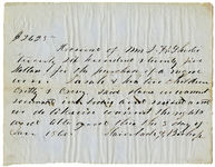 Shorter and Fontaine family papers, 1827-1869