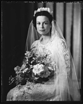Mr. Francis Gregory Jr.[from negatives--image shows bride] [black-and-white cellulose acetate photonegative]