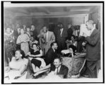 NAACP photographs of administrative meetings, office social gatherings, and facilities