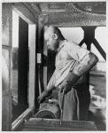 Negro steel worker