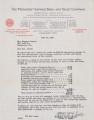 Althea Hurst scrapbook, 1938. Page 75. Provident Travel Service letter. June 24, 1938 Provident Travel Service letter. June 24, 1938