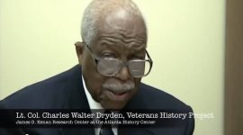 Oral history interview with Charles W. Dryden