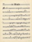 A Train [sic] [music manuscript]