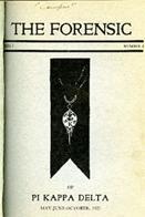 The Forensic of Pi Kappa Delta Series 7 No. 2