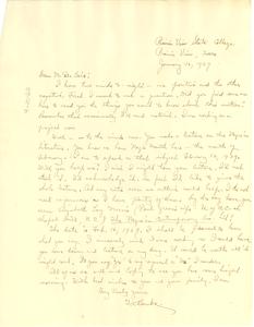 Letter from G. V. Banks to W. E. B. Du Bois