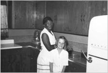 African-American cook and Jean