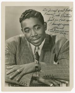Autographed portrait of Deek Watson by M. Smith Studio