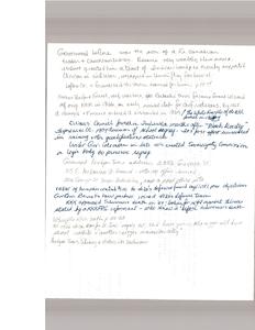 Notes by Gloria Xifaras Clark