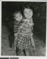 Two Children from the Airin-en Orphanage, Okinawa, Japan, 1953