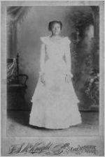 Fannie McComb, circa 1903