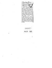 Barker, M.F., 1882-1966 N.C. Negro Baptists- Pastors