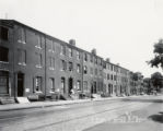 East side of the 200 block of South Bond Street between Pratt and Gough Streets, Baltimore