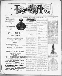 Torchlight Appeal. (Fort Worth, Tex.), Vol. 3, No. 27, Ed. 1 Friday, January 17, 1890 The Torchlight Appeal