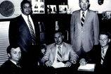 Hurley Goodall and school board members
