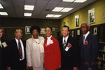 Honorees James P. Comer and Mel Carter with Others at African American Living Legends Program