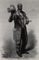 """Moses, The Baltimore News Vendor"", Sindall lithograph of Thomas Waterman Wood painting"