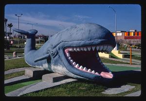 Whale, Stewart Beach mini golf, Galveston, Texas