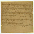 Thumbnail for Slave deed from Francis T. Reid to William Harrison, Jr., Williamson County, Tennessee, 1843 January 25