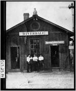 [Photograph of Riverdale depot, Riverdale, Clayton County, Georgia]