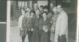 The Bixlers, Moores, and Iwakamis, Mito, Japan, 1964