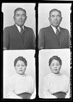 [Mr. and Mrs. J. Higaski] [cellulose acetate photonegative]