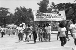 Community organizations at Black Family Reunion, Los Angeles, 1989