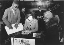 WPA Adult Education for the Blind