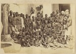"""Slaves taken from a dhow captured by H.M.S. """"Undine"""""""