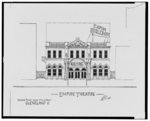 [Empire Theatre (Empire Burlesque), Huron Rd. near 9th St., and B.F. Keith's 105th St. Theatre (Photo plays, Vaudeville), Euclid Ave. and 105th St., Cleveland, Ohio]