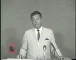 WALB newsfilm clip of James H. Gray asserting the outsider-run Civil Rights movement is bound to fail in Albany, Georgia, 1962 July 18