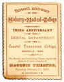 Thirteenth Anniversary of the Meharry Medical College
