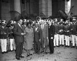 Councilmen at Negro History week, Los Angeles, 1963