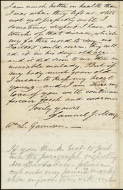 Letter to] Dearly beloved Brother Garrison [manuscript