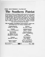 Mississippi State Sovereignty Commission photograph of masthead of Southern Conference Educational Fund's Southern Patriot, Nashville, Tennessee, 1963 October