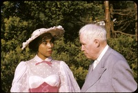 The Holder Wedding Reception; Carlo with Diahann Carroll. 1897
