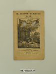 The 1841 Harrison Almanac