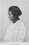 Four portraits of Negro women : A woman from the Virgin Islands