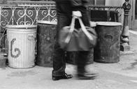 Garbage cans, South Bronx