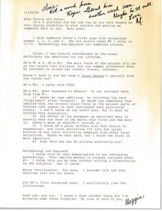 Letter from Marjorie Merrill Taylor to Gloria Xifaras Clark and Aviva Futorian