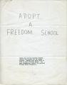 Kaplow--Friends of SNCC - General, 1964-1967, undated (Alicia Kaplow papers, 1964-1968; Archives Main Stacks, Mss 507, Box 1, Folder 4)