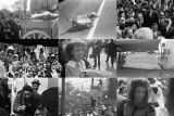 Images from Martin Luther King, Jr.'s funeral in Atlanta, Georgia.