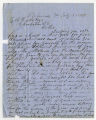 Letters by John B. Smith from Richmond, Virginia, and New Orleans, to Ziba Oakes