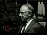 WSB-TV newsfilm clip of a reporter speaking to Atlanta mayor William B. Hartsfield about race relations in Atlanta, Georgia and about the Freedom Rides, Washington, D.C., 1961 May 25