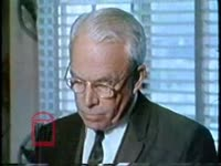 WSB-TV newsfilm clip of mayor Ivan Allen on his decision not to run for re-election in a speech before the rotary club on the race problems of Atlanta, Georgia, 1969 January 6