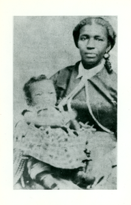 W.E.B. Du Bois and his mother, Mary Silvina