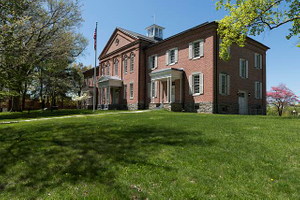 Anthony Hall, the administration building of the former Storer College in Harpers Ferry, West Virginia